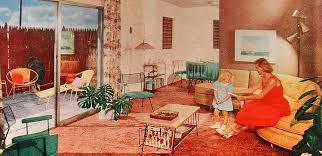 1950S Interior Design Custom Inspiration