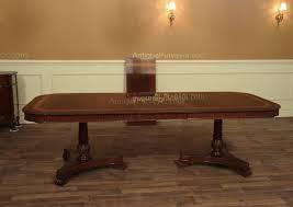 Inlaid Dining Table Narrow Regency Style Inlaid Mahogany Dining Table Seats 10 12