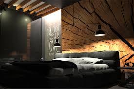 black bedroom. Plain Bedroom Oesarchitekciblackbedroominterior On Black Bedroom