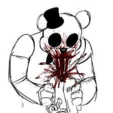 Five Nights At Freddys Characters Coloring Pages