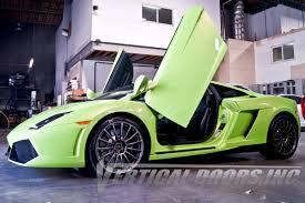 Lamborghini Gallardo 2003-2014 Vertical Lambo Doors [VDCLAMGAL03 ...