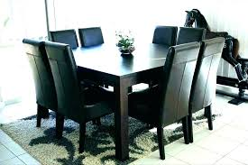 round dining table seats 8 square kitchen t chairs