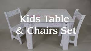 Kids Table \u0026 Chair Set From a Single Sheet of Plywood! - YouTube
