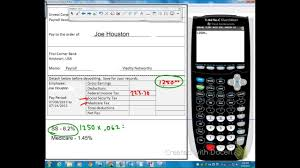 Pay Deduction Calculator Calculating Net Pay With Deductions