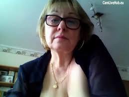 Granny solo on webcam