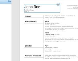 Resume Program For Mac Beautiful Free Format Doctors 1