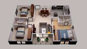 floor plan 3d. 3d House Floor Plan Design
