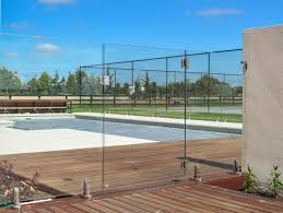fencing glass pool
