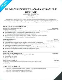Hr Resume Template Resume For Human Resources Resume Format Resume