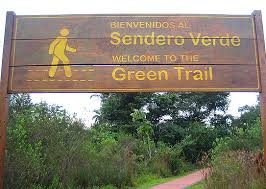 Image result for SIGNS IGUAZU FALLS GREEN TRAIL