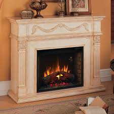 classic flame 28wm184 t408 gossamer electric fireplace insert mantel in antique ivory