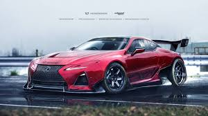 Lexus Lc Rendered For And Drift