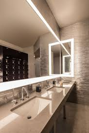 modern bathroom lighting smith architects commercial