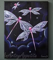 Dragonflies Wall Decor Animal Art Wall Decor An Artsy Appetite