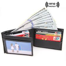 Designer Rfid Wallets Us 21 99 Rfid Blocking Credit Card Holder Dollar Price Wallet Short Designer Cowhide Leather Rfid Wallets 2017 Vintage Money Bag Men In Wallets From