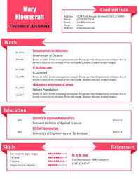What A Doll Free Resume Template By Hloom Com Teacher