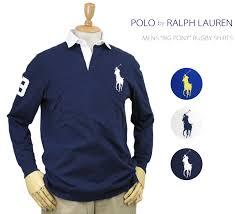 ralph lauren men s big pony rugby shirts