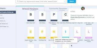 got writer s block use writewell to jumpstart organize your  writewell screenshot 2