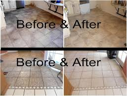 before after comparisons tile before cleaning