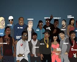 Rap Cartoons Wallpapers - Wallpaper Cave