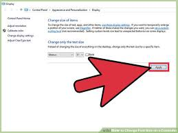how to change text size 8 easy ways to change font size on a computer wikihow
