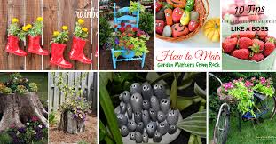 diy garden ideas cute diy projects
