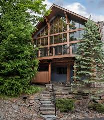 These floor plans can also act as a starting point for your new home, and from there can be modified by other designers to become the exact fit for you and your home site. 12 Beautiful Post And Beam Homes Traditional Meets Modern Log Cabin Hub