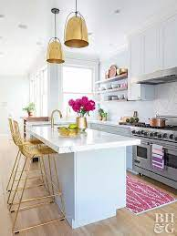 Modern Glam Kitchen Makeovers Better Homes Gardens