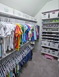 Childrens closet organization Toddler 19 More Organized Living Organized Living Kids Closets And Storage