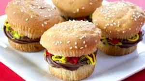 Cupcake Ideas For Bake Sale Juicy Lucy Burger Cupcakes Recipe Tablespoon Com