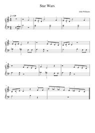 Right here you will have some very easy piano solo arrangements for learners. Star Wars Theme Sheet Music Free Download In Pdf Or Midi On Musescore Com
