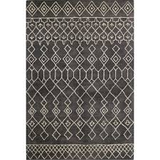 8 x 10 large charcoal gray area rug chelsea