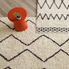 kasbah wool rug ivory west elm throughout moroccan style prepare 12