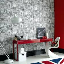 office wallpaper ideas. Wallpaper Ideas For Home Office Stylish Modern Idea . F