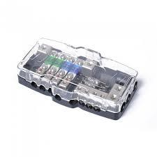 multi functional led car audio stereo mini anl fuse box with 4 way Maxi Fuse at Anl Fuse Box