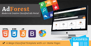 template for advertisement adforest largest classified marketplace ads template rtl by