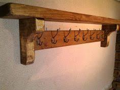 Vintage Coat Rack With Shelf Woodworking Industry Hook rack Coat hooks and Shelves 100