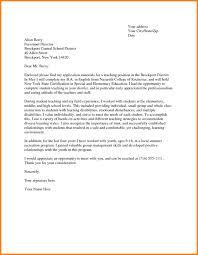 Cover Letter For Teacher 8 Teachers Application Letter Sample G