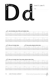 Morrells Letter Formation Free Sample Morrells Handwriting