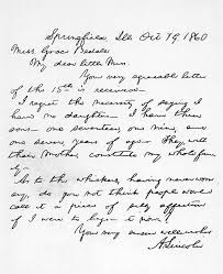 abraham lincoln s beard the republican presidential nominee responded on 19th