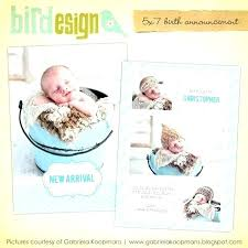 Template For Birth Announcement Boy Birth Announcement Template Baby Birth Announcement