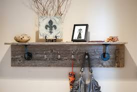 Coat Rack Diy diy shelves and coat rack Wooden Pallet DIY Coat Rack Pinterest 78