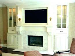 build a mantel brick fireplace how to shelf out of crown molding clock