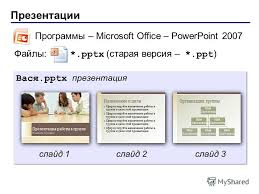 Презентация на тему powerpoint Часть Основы Презентации  3 Презентации
