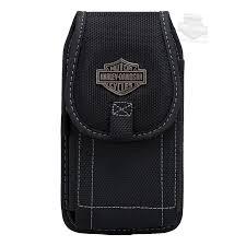 harley davidson b s logo universal vertical xl black phone case