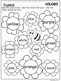 Search through 51968 colorings, dot to dots, tutorials and silhouettes. Coloring Activities For Kindergarten Pdf Best Of Coloring Sheets Remarkable Spring Worksheets For Prescho Teaching Colors Preschool Colors Preschool Worksheets