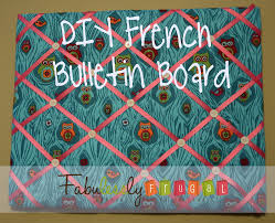 diy cork boards. DIY French Bulletin Board {Easy Craft Idea} Diy Cork Boards