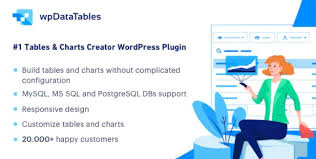 Download Free Wpdatatables V2 5 2 Tables And Charts