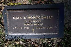 Mack Leonidas Montgomery, Sr (1917-2007) - Find A Grave Memorial