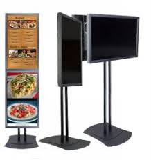Menu Display Stands Restaurant Digital Menu boards 12